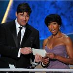 Kyle Chandler at the 2012 SAG Awards with Regina King 104161
