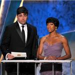 Kyle Chandler at the 2012 SAG Awards with Regina King 104162