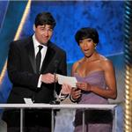 Kyle Chandler at the 2012 SAG Awards with Regina King 104163