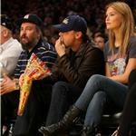 Leonardo DiCaprio with Bar Rafaeli at the Laker Game January 2010  53680