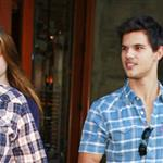 Taylor Lautner takes his new girlfriend Lily Collins out on a date 72801