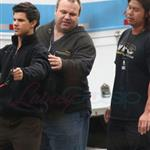 Taylor Lautner and his father in Vancouver for Twilight 86614