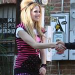 Punk ass loser Avril Lavigne poses for photo shoot for 14 year olds 31568