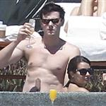 Lea Michele and Cory Monteith on holiday in Cabo  110779