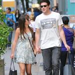 Lea Michele and Cory Monteith hold hands in Soho May 2012  114792