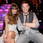Lea Michele and Cory Monteith at the 2012 Do Something Awards 123701