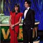 Ian Somerhalder presents with Lea Michele at Emmy Awards 2011  94514