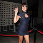 Lea Michele poses hard at American Horror Story premiere  95650