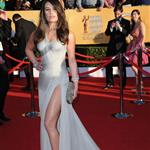 Lea Michele at the 2012 SAG Awards  104191