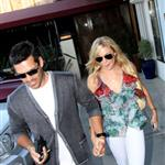 LeAnn Rimes and Eddie Cibrian leaving Nobu in Malibu 63562