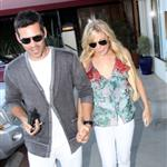 LeAnn Rimes and Eddie Cibrian leaving Nobu in Malibu 63564