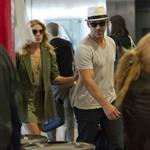 LeAnn Rimes and Eddie Cibrian at LAX heading to Mexico 75852