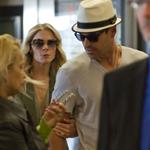 LeAnn Rimes and Eddie Cibrian at LAX heading to Mexico 75854
