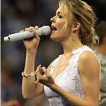 Skinny LeAnn Rimes sings at NCAA mens final April 2011 82668