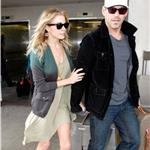 Very thin Leann Rimes at airport with Eddie Cibrian 82809