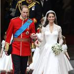 Prince William and Catherine leave Westminster Abbey 112761