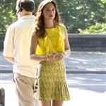 Leighton Meester on set first day of new season of Gossip Girl 89406