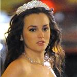 Leighton Meester in a wedding dress shoots scenes for Gossip Girl 98474