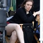 Lena Dunham on the set of Girls in Manhattan 117367