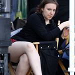 Lena Dunham on the set of Girls in Manhattan 117368