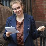 Lena Dunham on the set of Girls in Manhattan 115850