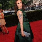 Lena Dunham at the Met Gala 2012 113921