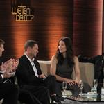 Jessica Biel and Lenny Kravitz on Wetten Dass in Germany  99869
