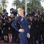 Bar Rafaeli on the carpet of The Beaver in Cannes 85624