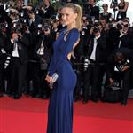 Bar Rafaeli on the carpet of The Beaver in Cannes 85626