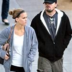 Leonardo DiCaprio and Bar Rafaeli ring in New Years in Vegas with a passionate kiss 15945