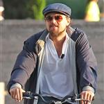 Leonardo DiCaprio and Erin Heatherton bike riding in New York 117652
