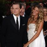 Leonardo DiCaprio with Gisele Bundchen at the 77th Annual Academy Awards 2005 95958