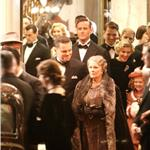 Leonardo DiCaprio shooting J Edgar Hoover with Judi Dench and Armie Hammer  78737