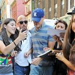 Leonardo DiCaprio swarmed by fans in NYC 124588
