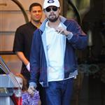 Leonardo DiCaprio out in New York with Ruby Maguire and her mother, Jen 110956