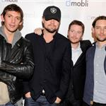Lukas Haas, Leonardo DiCaprio, Kevin Connolly and Tobey Maguire attend Mobli 2.0 Launch Party at Kenichi in Austin, Texas 108680
