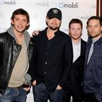 Lukas Haas, Leonardo DiCaprio, Kevin Connolly and Tobey Maguire attend Mobli 2.0 Launch Party at Kenichi in Austin, Texas 108684
