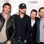 Lukas Haas, Leonardo DiCaprio, Kevin Connolly and Tobey Maguire attend Mobli 2.0 Launch Party at Kenichi in Austin, Texas 108686