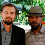Leonardo DiCaprio and Jamie Foxx attend the Django Unchained photo in Cancun, Mexico 111375