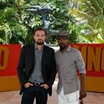 Leonardo DiCaprio and Jamie Foxx attend the Django Unchained photo in Cancun, Mexico 111376