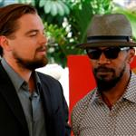 Leonardo DiCaprio and Jamie Foxx attend the Django Unchained photo in Cancun, Mexico 111381