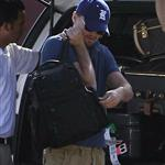 Leonardo DiCaprio and his girlfriend Erin Heatherton grabbed their luggage from the back of a car in Mexico  103878