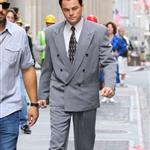 Leonardo DiCaprio on the set of The Wolf of Wall Street in Manhattan, NYC 124260