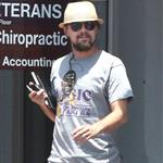 Leonardo DiCaprio leaves the chiropractor in New Orleans 115937