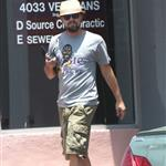 Leonardo DiCaprio leaves the chiropractor in New Orleans 115941