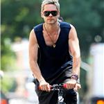 Jared Leto bike rides in New York 67993