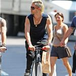 Jared Leto bike rides in New York 67996