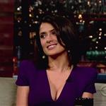 Salma Hayek talks about Snake Incident on Letterman June 2010  63789