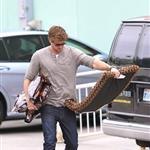 Liam Hemsworth picks up some supplies at a pet store Los Angeles 113183