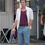 Liam Hemsworth on the set of Empire State in New Orleans 116651
